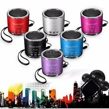 Portable Mini Speaker FM Radio USB Micro SD TF Card MP3 Player For PC Laptop