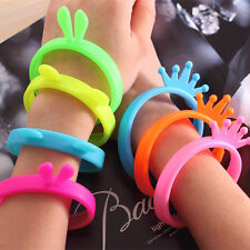 Trendy Fluorescent Protective Silicone Bracelet Cell Phone Cover Bumper Case HOT