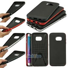 Hybrid Dual Layer Bumper Protective Slim Case Cover For Samsung Galaxy S7 Edge