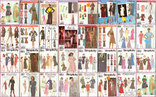 OOP Simplicity Sewing Pattern Misses Dresses You Pick