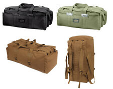 Black Olive Drab Brown Israeli Military Tactical Gear Duffle Mossad Bag Backpack