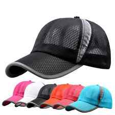 Fashion Baseball Hat Sport Outdoor Cap Men Women Hiking Golf Tennis breathable