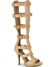 Tan Gladiator Womens Sandals