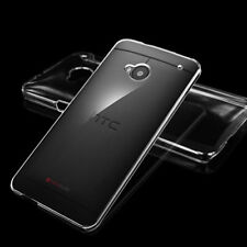 Slim Crystal Ultra Clear Plastic Case Cover Skin Protector For HTC One M7 M8 M9