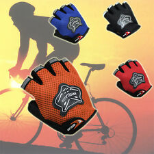 New Outdoor Sports Cycling Bike Bicycle Half Finger Fingerless Gel Short Gloves