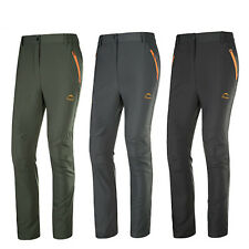 Men Outdoor Waterproof Trousers Hiking Ski Camping Outdoor Quick-Drying Pants