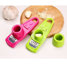 Ginger Garlic Crusher Peeler Mincer Stirrer Presser Slicer Good Kitchen Tool WH