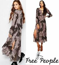 New $168 FREE PEOPLE Out of the Woods Maxi Dress