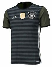 Adidas Men Germany Euro 2016 Away FIFA Climacool S/S Jersey Football GYM AA0110