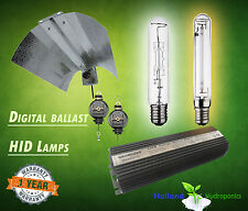 Hydroponics Grow Tent, HPS/MH lamp Light Bulb, LED, shade reflector system combo