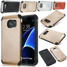 Hybrid Rugged Rubber Matte Hard Back Case Cover For Samsung Galaxy S7/S7 Edge