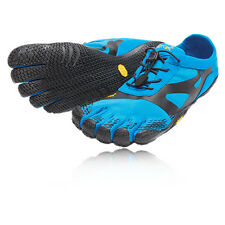 Vibram KSO EVO Mens Blue Five Fingers Running Road Sports Shoes Trainers