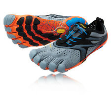 Vibram Bikila EVO Mens Grey Five Fingers Running Road Sports Shoes Trainers