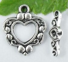 Wholesale 14/46 Sets Tibetan Silver Toggle Clasps 21x18mm (Lead-free)