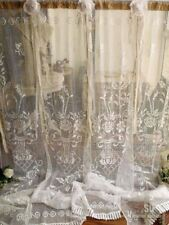 "84""long Boho Vintage Lace Wedding Backdrop Shabby Chic Rustic Burlap Baby Shower"