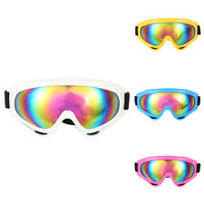 Snowboard Dustproof Sunglasses Motorcycle Ski Goggles Len Frame Glasses w/ Strap