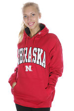 University of Nebraska Cornhuskers Hoodie Sweatshirt | Red | Size M, L