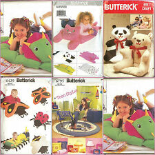 OOP Butterick Sewing Pattern Childs Home Deco Accessories Boys Girls You Pick