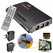 Digital DVB-T/T2 1080P HDMI Tuner Receiver Box VGA AV for CRT LCD TV PC Monitor