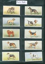 W.D & H.O Wills Dogs Full Set of 50 cards in sleeves 1937