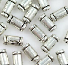 Wholesale 100/200pc 6x3mm Silver Charm Spacer Bead Jewelry finding beads