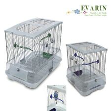 Bird Cage Budgie Canary Lovebird Finch Parakeet Cockatiel Pet Play House -Travel