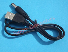 USB to DC 5.5mm 5V Connector PC Laptop Speaker Charging Power Cable Cord Adapter