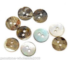 Wholesale lots Mother of Pearl Round Sewing Buttons Scrapbooking HIGH QUALITY