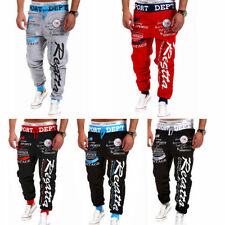 Mens Womens Casual Harem Baggy Hip Hop Dance Sport Sweat Pants Trousers Slacks
