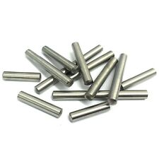 3mm 4mm 5mm 6mm Metric A2 Stainless Steel Dowel Pins - Various Lengths