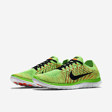 NIKE Free Flyknit  4.0 Mens Trainers Running Shoes Size UK6.5, 8, 9, 10.5
