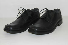FREE SHIPPING Dockers Mens Size 12 M Black Leather Oxfords Dress Shoes VERY NICE