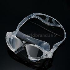Non Fogging Anti-UV Swimming Goggles Swim Glasses Large Adult Unisex New M6X8