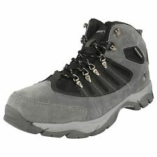 "MENS HI-TEC CHARCOAL/BLACK/GRAPHITE WATERPROOF WALKING BOOTS ""KRUGER II"""