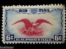 Air Mail U.S.Postage 6 Cents Value Stamp Not Cancelled