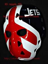 VINTAGE FIBERGLASS NHL ICE HOCKEY GOALIE HELMET MASK Pierre Winnipeg jets HO88