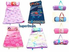 Disney Slumber Nap Pal - 2 in 1 Roll Up Pillow with Sleeping Bag
