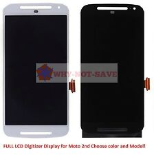 Full LCD Glass Screen Digitizer Display Replacement Part for Motorola Moto G2