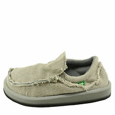 Sanuk Chiba Light Grey Men's Slip On Sidewalk Surfers SMF1047