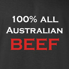 New Aussie Pride T-shirt. 100% All Australian Beef made in Australia all sizes