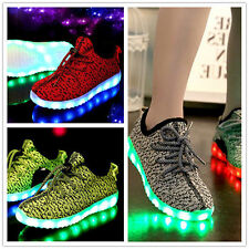Children Kids Boys Girls Luminous Sneakers Led Light Up shoes Casual Shoes