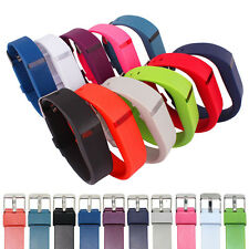 Replacement Wrist Band Watch Style Strap Metal Clasp For Fitbit Flex Bracelet