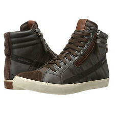 Diesel Mens D-Velows D-String High Lace Up Side Zip Fashion Sneakers Shoes Kicks