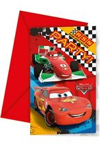 Disney Cars RSN | Racing | McQueen Party Invites Invitations Envelopes 1-48pk
