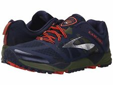 BROOKS CASCADIA 11 PEACOAT OLIVE TORCH MENS 2016 RUNNING SHOES **ALL SIZES