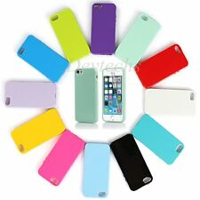 Silicone Case Soft Gel Cover Jelly Bumper Rubber Skin for Apple iPhone 5 5S SE