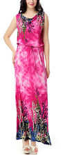 Women Ladies Floral Maxi Dress Long Evening Party Sundress US 14 16 18 22 26 28