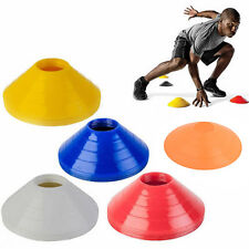 10pcs Sport Football Rugby Space Track Marker Soccer Disc Trainning Cone Saucer