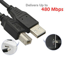 For Borther HP Samsung Printer Scanner USB 2.0 Cable AMBM Type B Male 16.5ft 5M