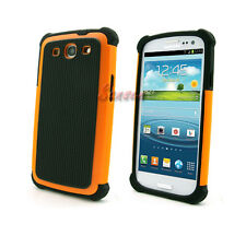 For Samsung Galaxy S3 S III I9300+Pen/Film Hybrid Hard Dual Layer Case Caso